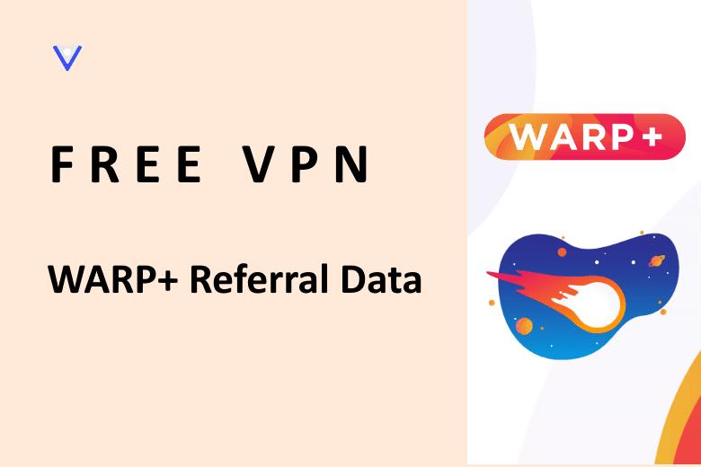 hack data warp+ cloudflare vpn