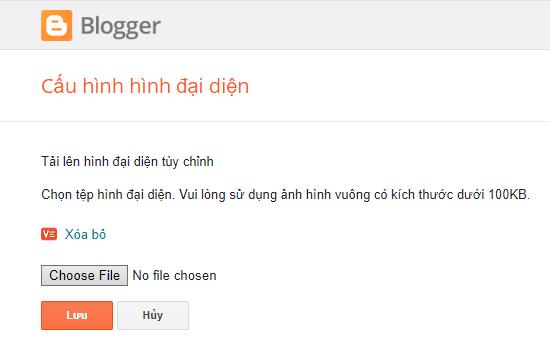 Upload Blogger Favicon