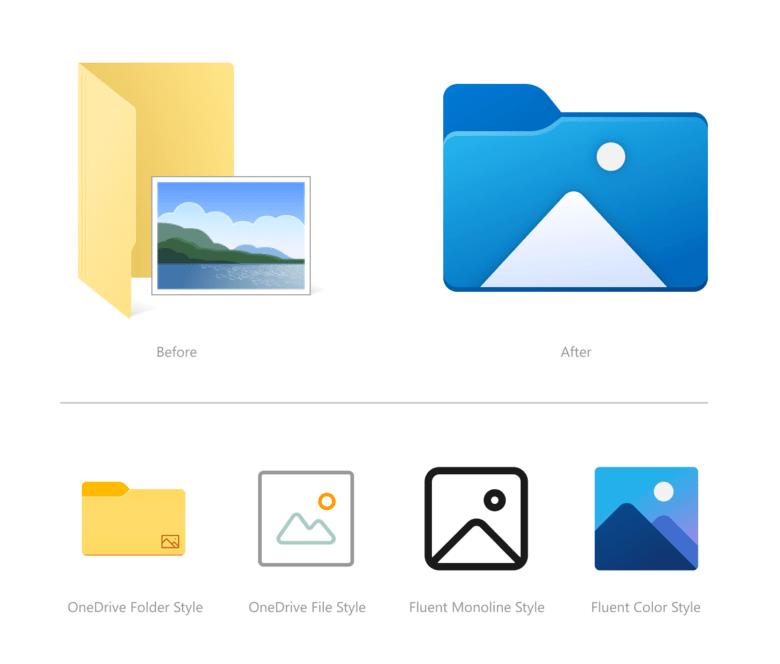 File Explorer Pictures Icon