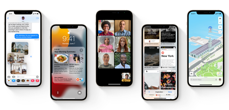 Thiết bị hỗ trợ iOS 15
