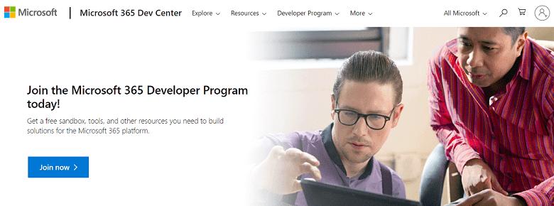 Microsoft 365 Developer Program