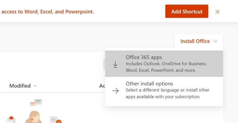 Tải Office 365 miễn phí từ Microsoft